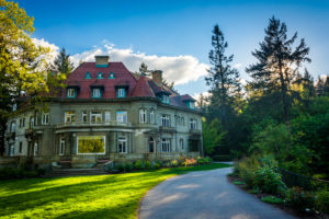 Pittock Mansion in Portland is perfect on a rainy day