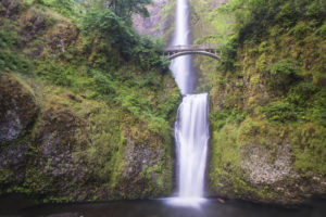 Multnomah Falls just outside of Portland